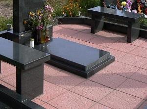 Надгробные плиты на цветник гранитные памятники фото и цена в 100-50
