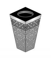Лампадка из габбро-диабаза Шоссе Энтузиастов Мемориальный одиночный комплекс из двух видов гранитов Терек